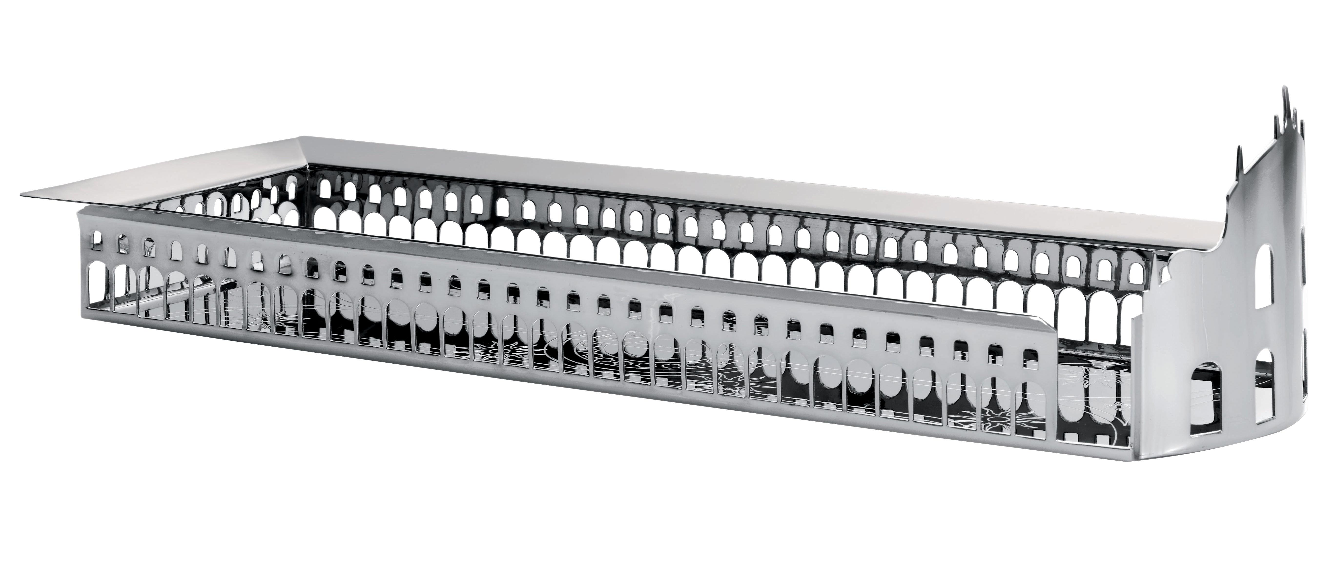 Tischkultur - Körbe, Fruchtkörbe und Tischgestecke - 100 Piazze - Vigevano Tischgesteck - Driade Kosmo - Silber - Kupfer mit Silberauflage