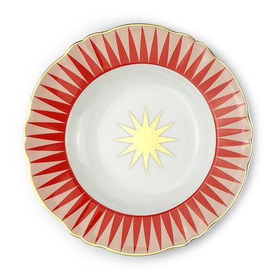 Arts de la table - Assiettes - Assiette creuse Baleno / Ø 23 cm - Bitossi Home - Etoile - Porcelaine