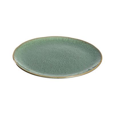Assiette Matera / Grès - Ø 27 cm - Leonardo vert en céramique