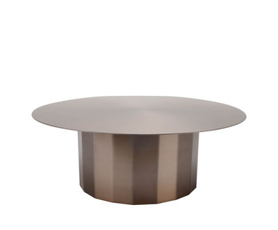 Tableware - Serving Plates - Doric Cake display stand - / Stainless steel by XL Boom - Copper - Stainless steel