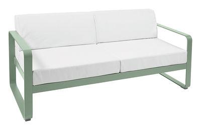 Canapé droit Bellevie 2 places L 160 cm Tissu blanc Fermob cactus en métal
