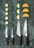 Coltello da sbucciare Nordic Kitchen - / acciaio di Damasco & legno Pakka di Eva Solo