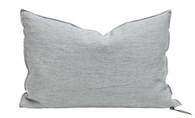 Decoration - Cushions & Poufs - Vice Versa Cushion - 65 x 65 cm - Linen by Maison de Vacances - Cloud - Duck feathers, Flax