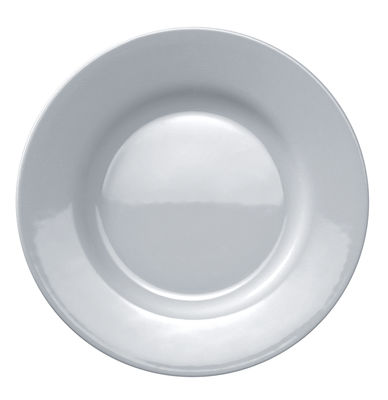 Tableware - Plates - Platebowlcup Dessert plate by A di Alessi - White - China