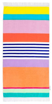 Jardin - Déco et accessoires - Drap de bain Havana / 90 x 175 cm - Coton éponge - Sunnylife - Havana / Multicolore - Coton éponge