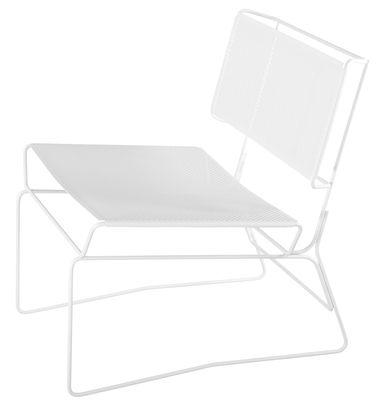 Fauteuil bas Fil - AA-New Design blanc en métal