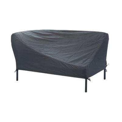 Jardin - Canapés de jardin - Housse de protection / Pour canapé angle gauche - Houe - Gris foncé / Canapé gauche - Tissu polyester
