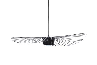Lighting - Pendant Lighting - Vertigo Pendant - Small / Ø 140 cm by Petite Friture - Black - Fibreglass, Polyurethane