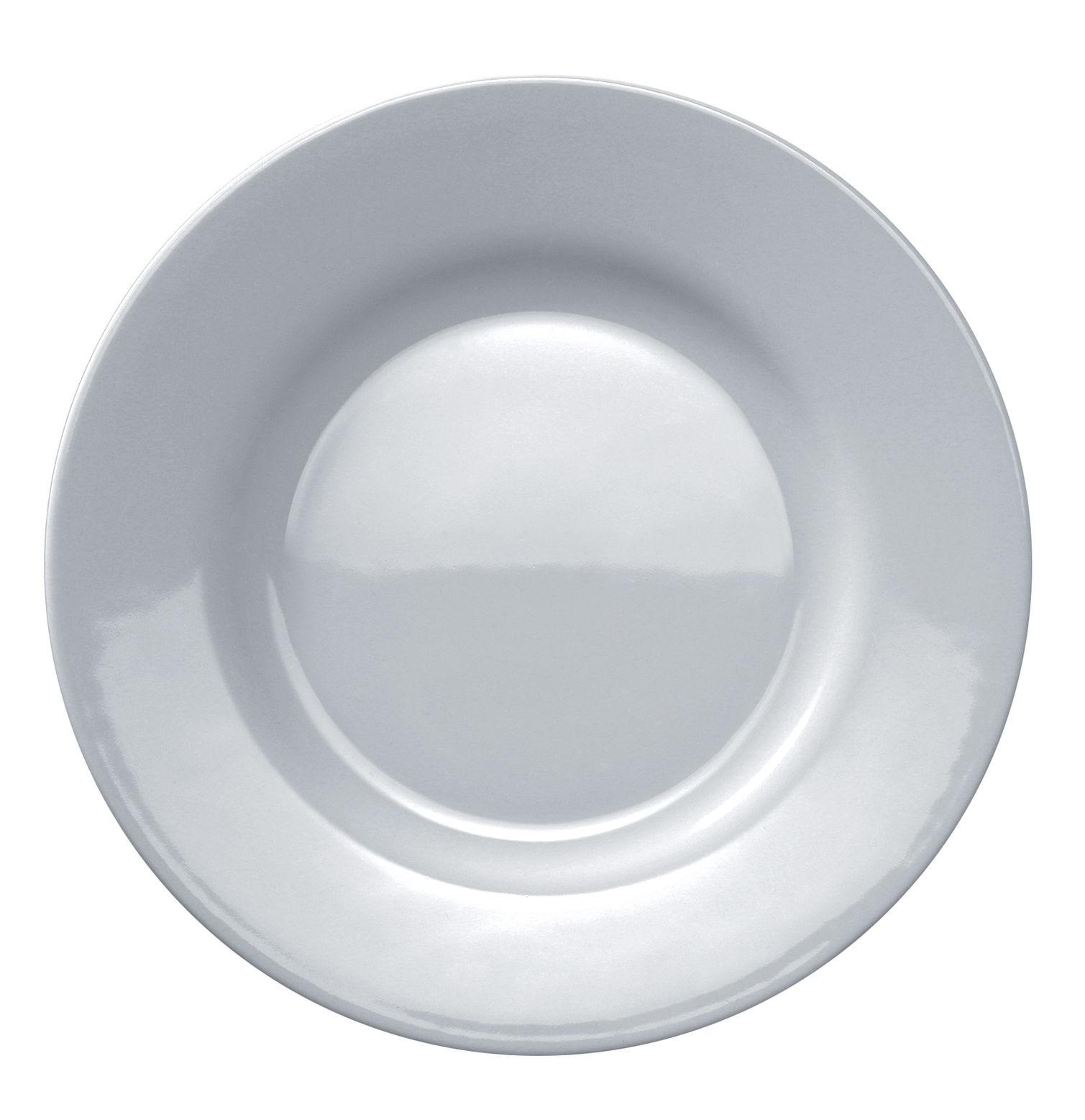 Tavola - Piatti  - Piatto da dessert Platebowlcup di A di Alessi - Bianco - Porcellana