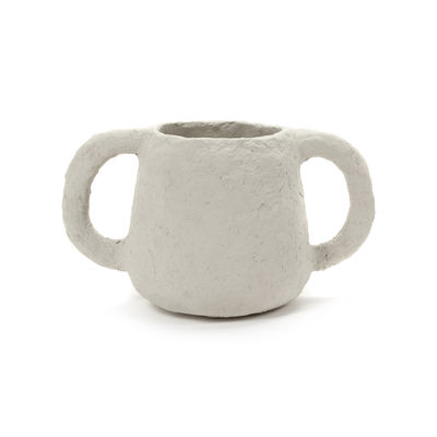 Déco - Vases - Pot Marie / Papier mâché - Ø 14 x H 18 cm - Serax - Ø 14 x H 18 cm -  Papier mâché recyclé