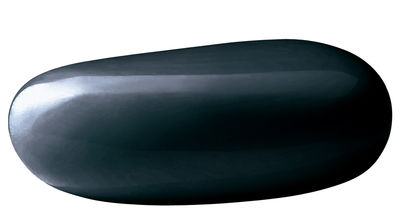 Pouf Koishi / Table basse - Driade gris anthracite en matière plastique
