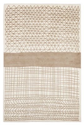 Decoration - Rugs - Mogador Rug - 300 x 200 cm by Chevalier édition - Brown & Beige - Wool