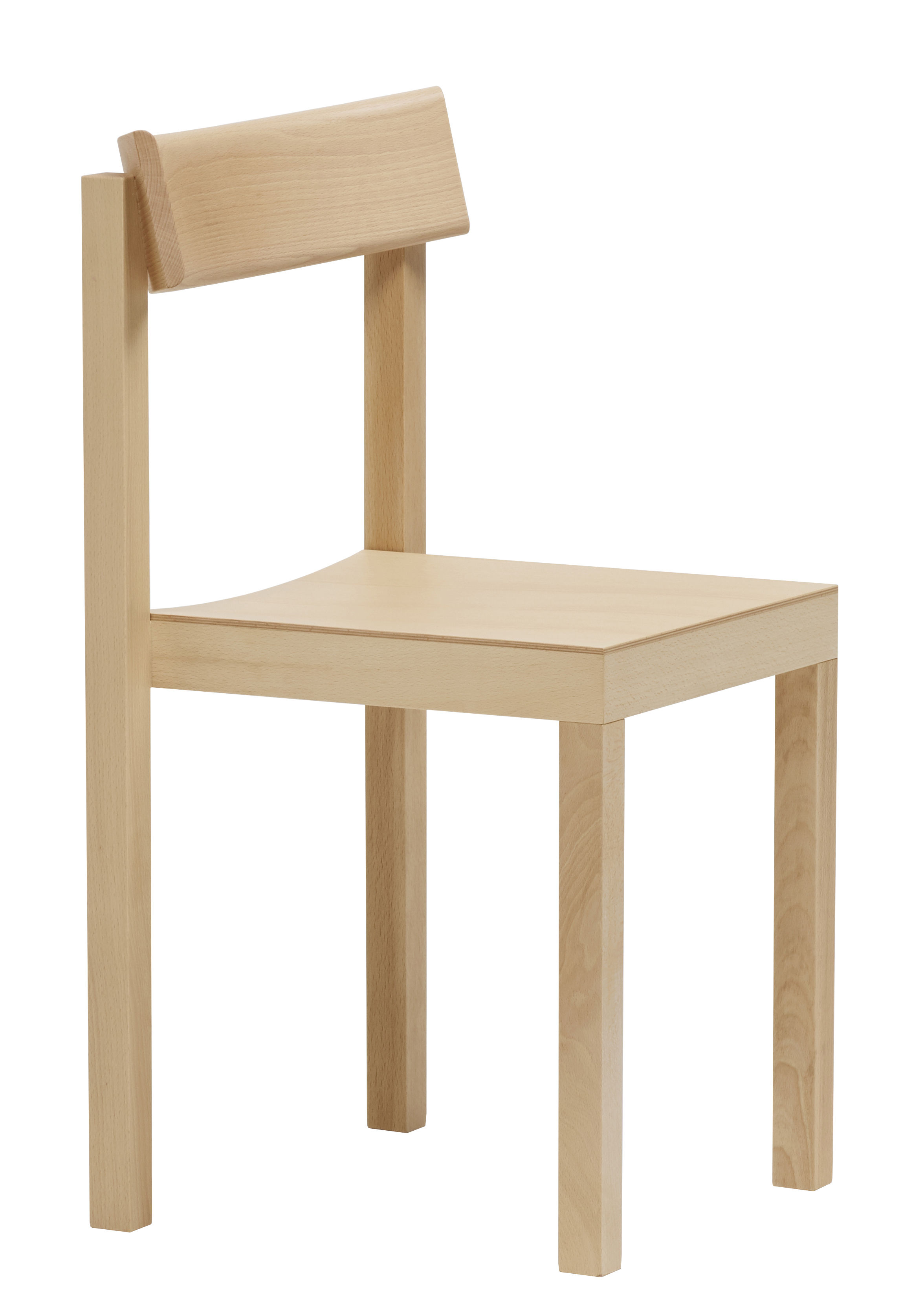 Furniture - Chairs - Primo Stacking chair - / Wood by Mattiazzi - Natural beech - Natural beechwood