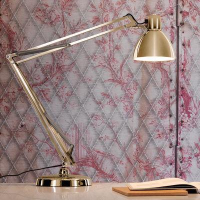 Naska LED Tischleuchte / Neuauflage des Originals aus dem Jahr 1933 - Fontana Arte - Gold
