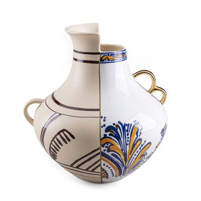 Déco - Vases - Vase Hybrid Nazca / Ø 22,5 x H 25 cm - Seletti - Nazca - Porcelaine
