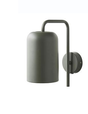 Chill Wandleuchte mit Stromkabel / H 25 cm - Frandsen - Grün
