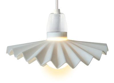 Luminaire - Luminaires d'extérieur - Abat-jour Cappello en silicone / Pour guirlande Bella Vista - Set de 10 - Seletti - Blanc - Silicone