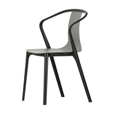Furniture - Chairs - Belleville Armchair - / Plastic by Vitra - Moss green - Polyamide