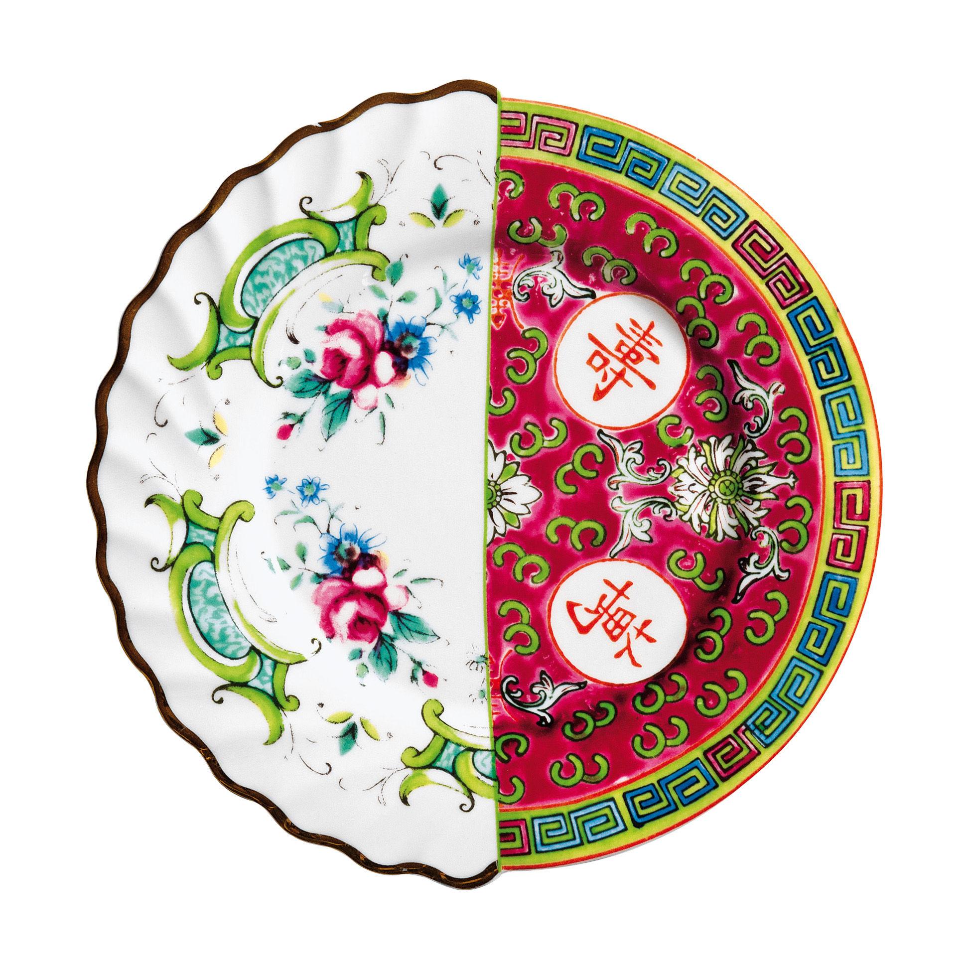Arts de la table - Assiettes - Assiette à dessert Hybrid Eudossia Ø 20 cm - Seletti - Eudossia - Porcelaine