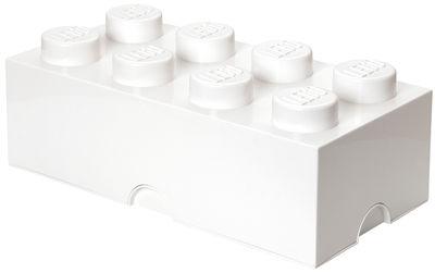 Déco - Pour les enfants - Boîte Lego® Brick / 8 plots - Empilable - ROOM COPENHAGEN - Blanc - Polypropylène