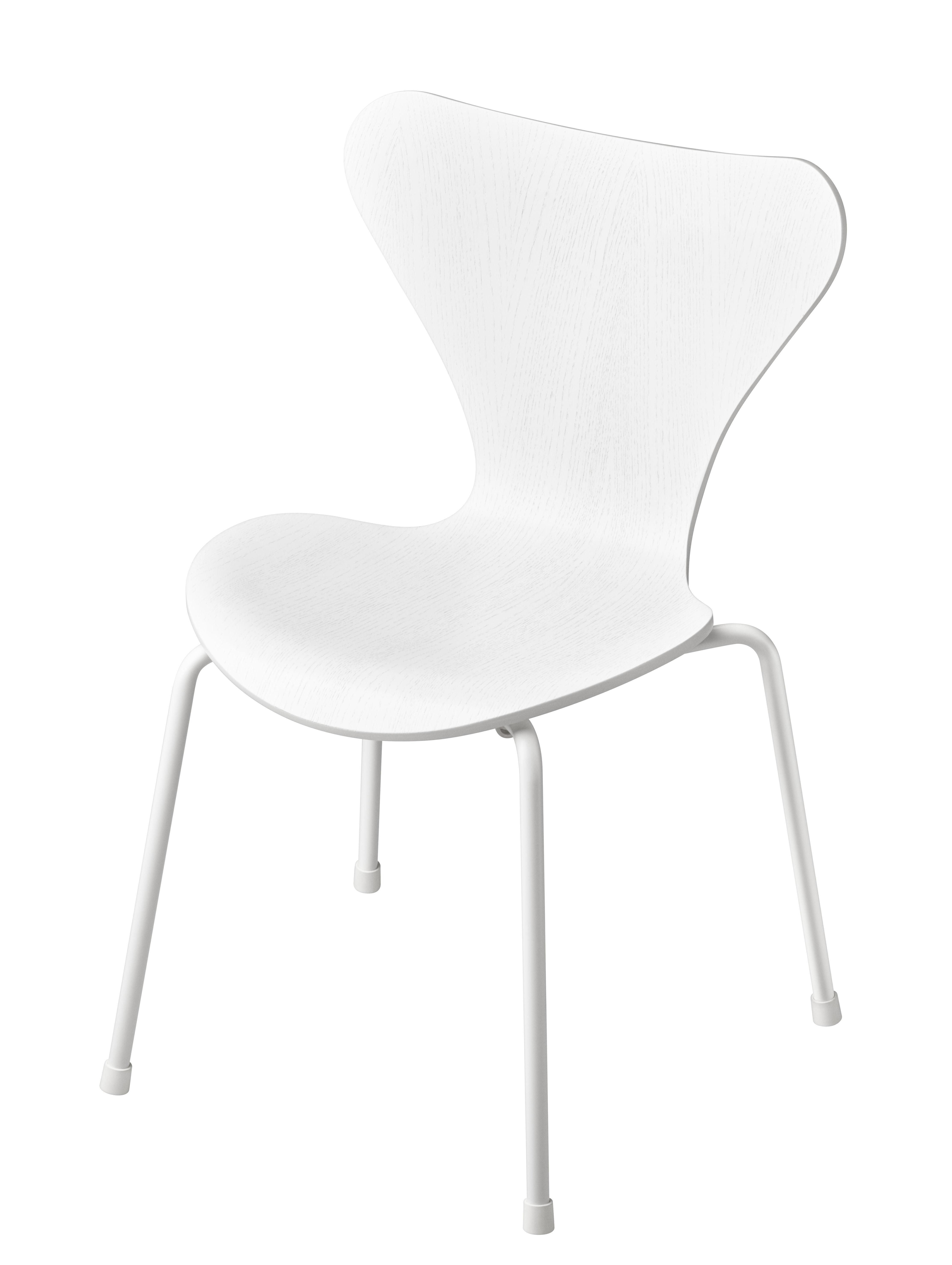 Children S Chair Serie 7 By Fritz Hansen White Made In Design Uk