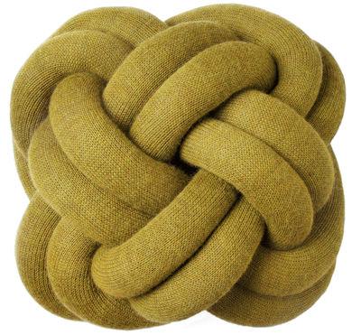 Cuscino Knot - Design House Stockholm - Giallo - Tessuto