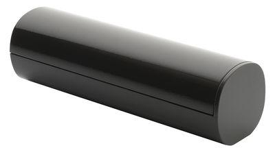 Distributeur de disques coton Birillo - Alessi anthracite en matière plastique