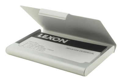 Card Box Etui Für Visitenkarten Lexon