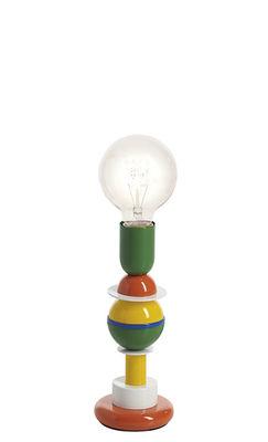 Lampe de table Otello Mini / Métal - H 25 cm - Slide multicolore en métal