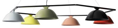 Lighting - Pendant Lighting - Sempé w103s6 Pendant - Multiple - LED - Ø 147 cm by Wästberg - Multicolored - Aluminium, Steel