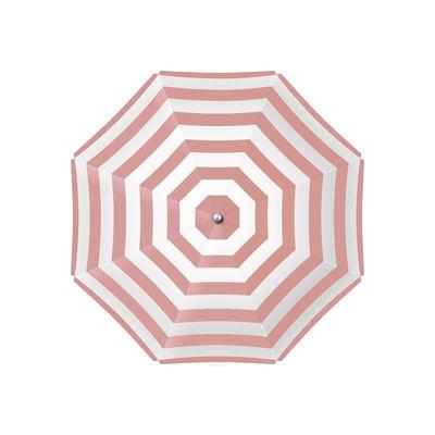 Tableware - Napkins & Tablecloths - Parasol Placemat - / 38 x 38 cm - Vinyl by PÔDEVACHE - Pink - Vinal
