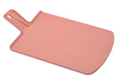 Planche à découper Chop2Pot / Pliable - L 38 cm - Joseph Joseph rose pâle en matière plastique