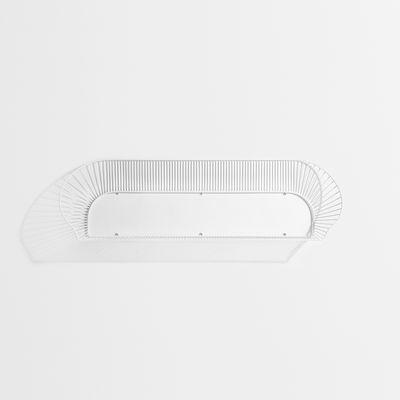 Arredamento - Scaffali e librerie - Scaffale Loop - / L 120 cm di Petite Friture - Bianco - Acciaio verniciato
