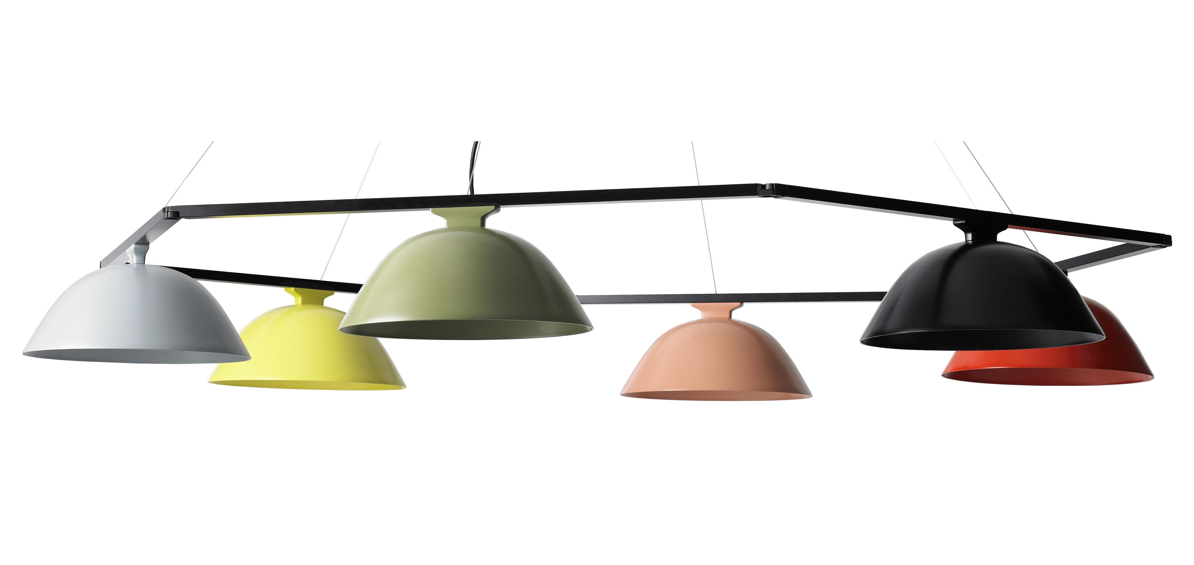 Luminaire - Suspensions - Suspension Sempé w103s6 multiple / LED - Ø 147 cm - Wästberg - Multicolore - Acier, Aluminium