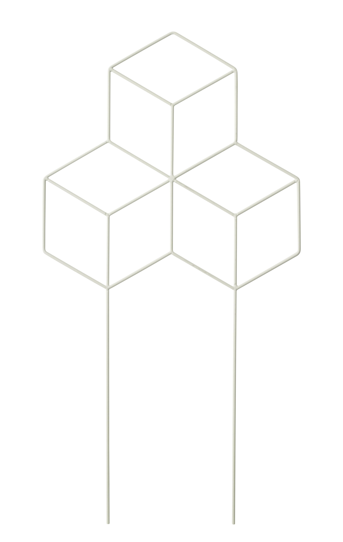 Outdoor - Pots et plantes - Tuteur POV Large / Pour plantes grimpantes - H 62 cm - Menu - Blanc - Acier laqué époxy