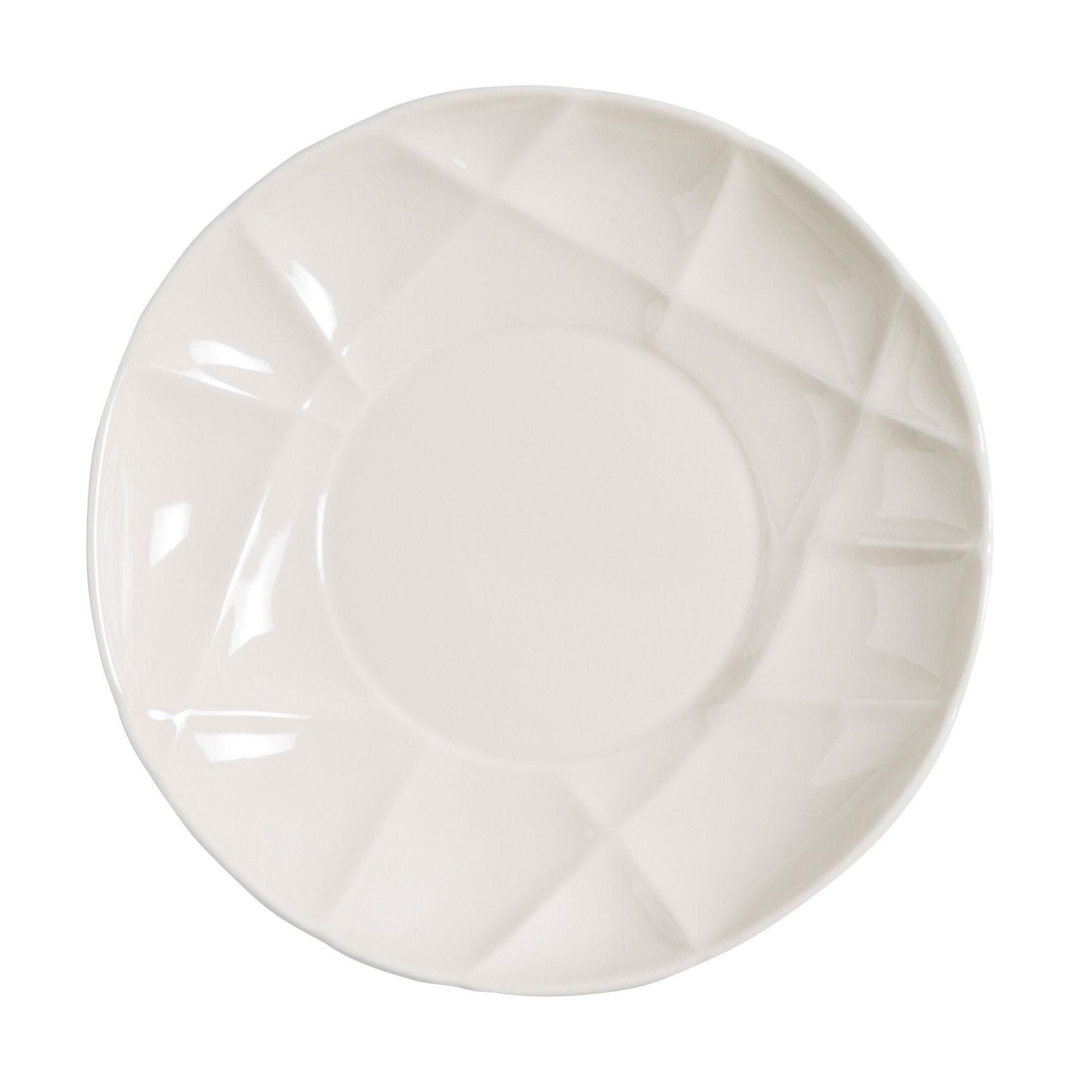 Arts de la table - Assiettes - Assiette creuse Succession / Ø 23 cm - Porcelaine - Fait main - Petite Friture - Blanc - Porcelaine