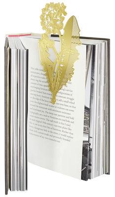 Accessories -  Jewellery - Tool The Bookworm Dandelion Bookmark by Tom Dixon - Brass - Brass