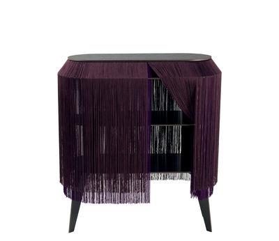 Mobilier - Tables basses - Buffet Baby Alpaga / Etagère - L 66 x H 72 cm - Ibride - Violet profond - Stratifié massif, Viscose