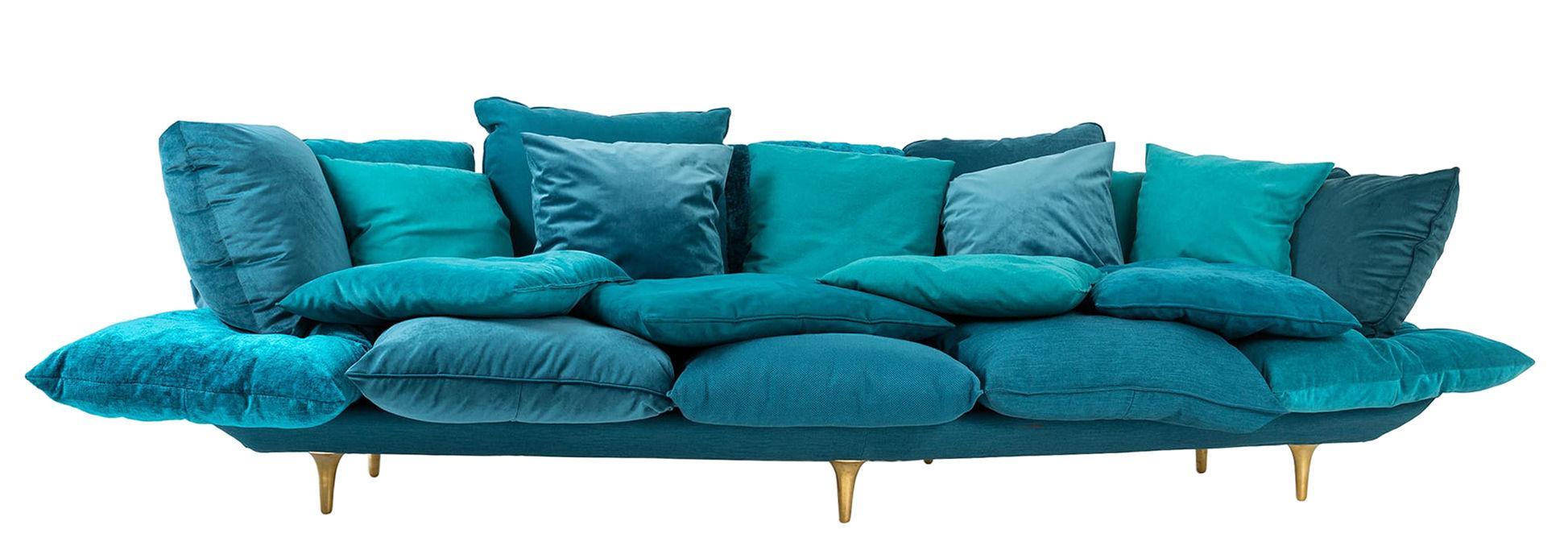 Canapé droit Comfy Seletti - Bleu | Made In Design