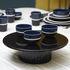 Délice Centrepiece - / Cake plate - Ceramic - Ø 32 cm by Maison Sarah Lavoine