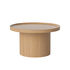 Plateau Large Coffee table - / Ø 74 x H 42 cm - Removable top by Bolia