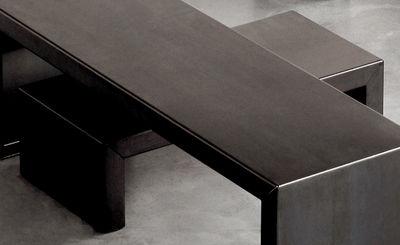 Möbel - Couchtische - Small Irony Couchtisch - Zeus - L 68 x H 20 cm - phosphatierter Stahl
