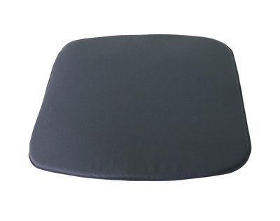 Déco - Coussins - Coussin d'assise / pour chaise et fauteuil Darwin - Emu - Gris - Mousse, Tissu acrylique