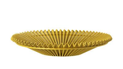 Dekoration - Tischdekoration - Matégot Korb / Neuauflage des Originals aus dem Jahr 1953 - Gubi - Venezianisch-Gold - Stahlplatte