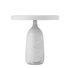 Lampada da tavolo Eddy - / Con perno - Marmo & acciaio stampigliato di Normann Copenhagen