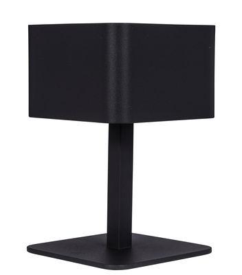 Illuminazione - Lampade da tavolo - Lampada solare La Lampe Pose 02 / LED - Senza fili - Maiori - Carbone - Alluminio