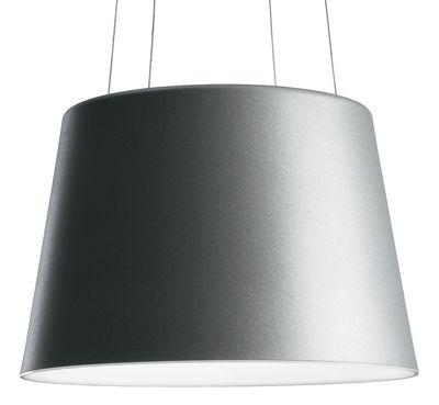 Lighting - Pendant Lighting - Aurea Pendant by Fontana Arte - Aluminiun - Varnished aluminium