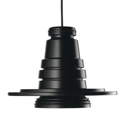 Lighting - Pendant Lighting - Tool Pendant - Suspension Ø 13 cm by Diesel with Foscarini - Ø 13 cm - Black - Silicone