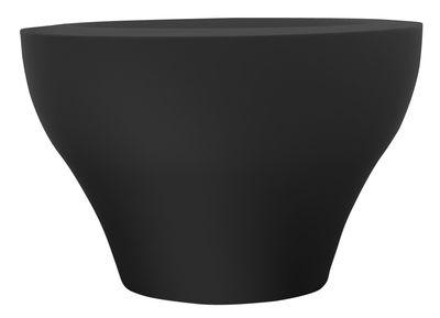 Pot de fleurs Ming extra large - Serralunga noir en matière plastique