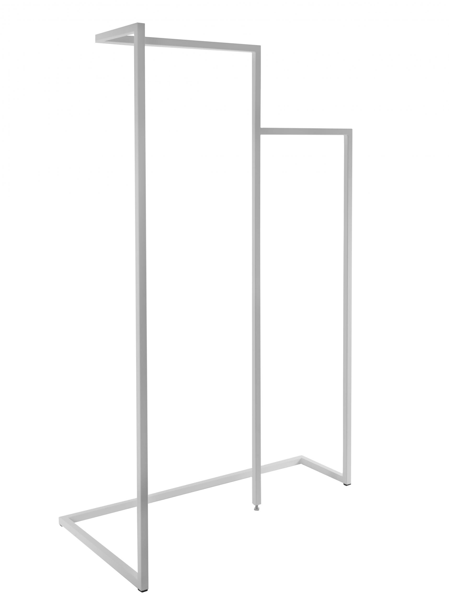 Furniture - Miscellaneous furniture - Oona Rack - L 110 x H 170 by Serax - White - Lacquered metal